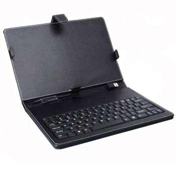 کیف کلاسوری کیبورد دار چیکونی مدل k71 مناسب برای تبلت 7 اینچی