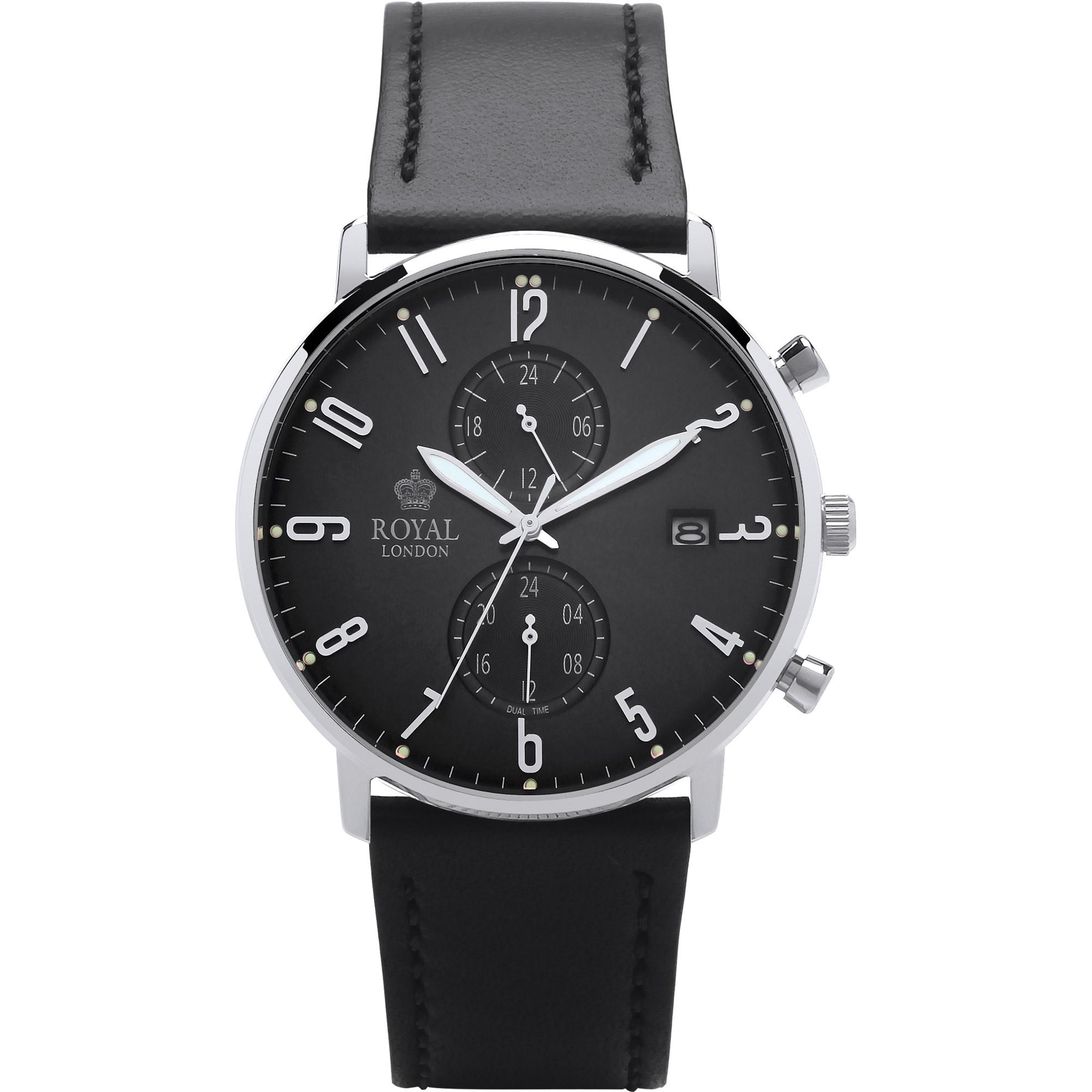 ساعت مچی عقربه ای مردانه رویال لندن مدل RL-41352-02 5