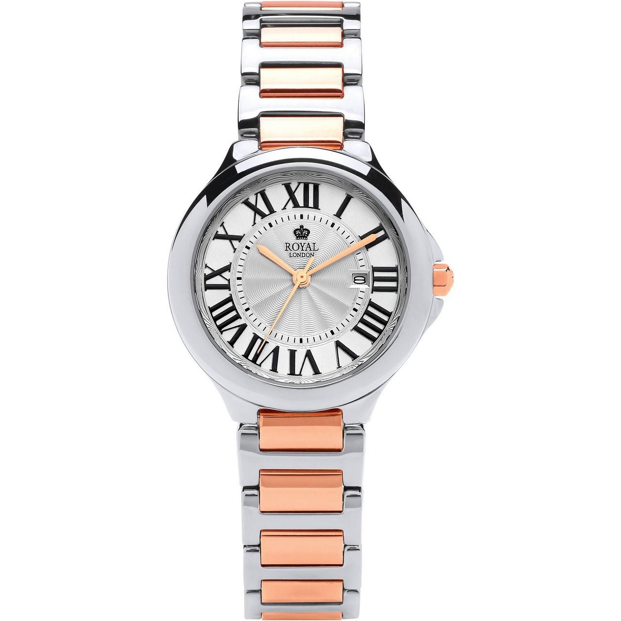 ساعت مچی عقربه ای زنانه رویال لندن مدل RL-21378-04
