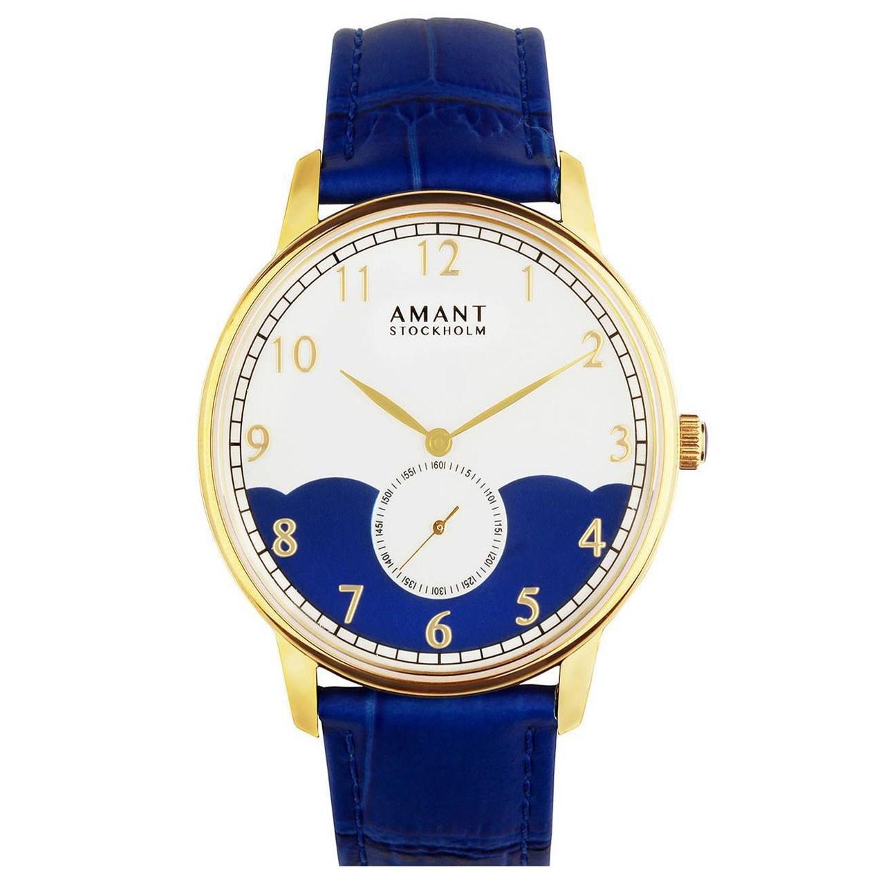 ساعت مچی عقربه ای مدل Amant Stockholm