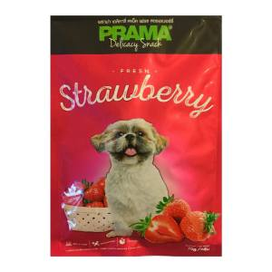 غذای خشک سگ پراما مدل تشویقی توت فرنگی