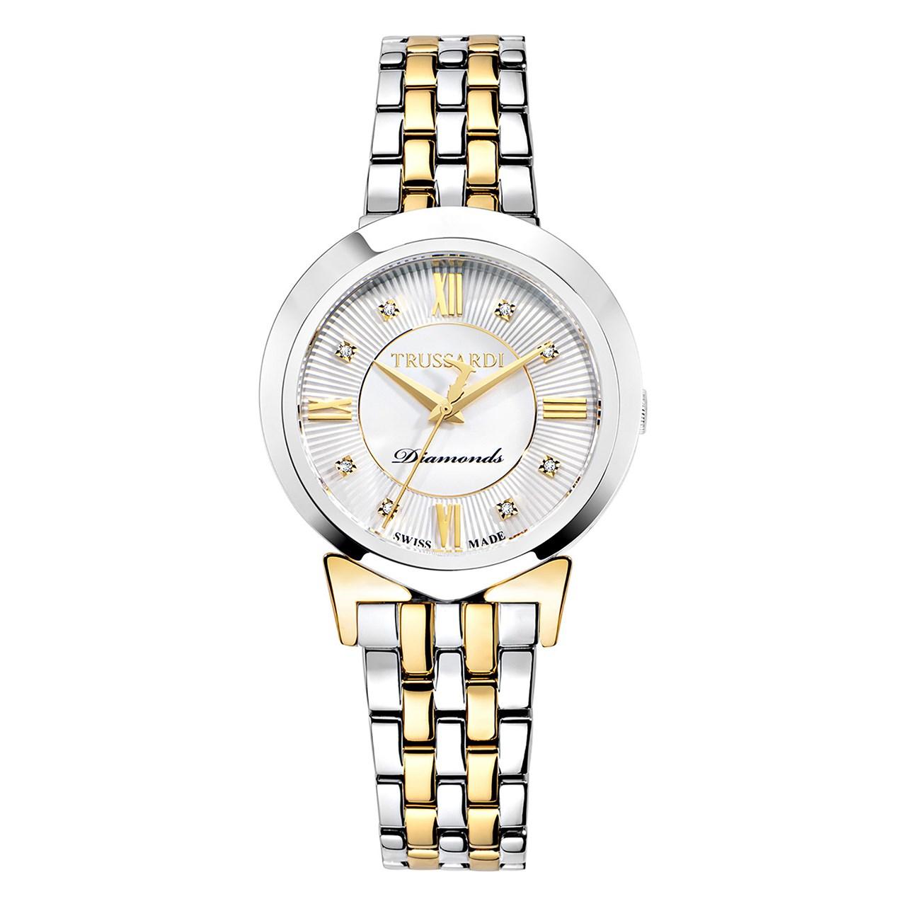 ساعت مچی عقربه ای زنانه تروساردی مدل TR-R2453105507