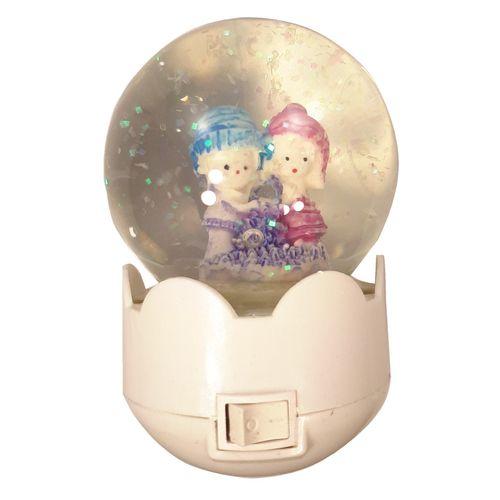 چراغ خواب کودک مدل گوی زمستان