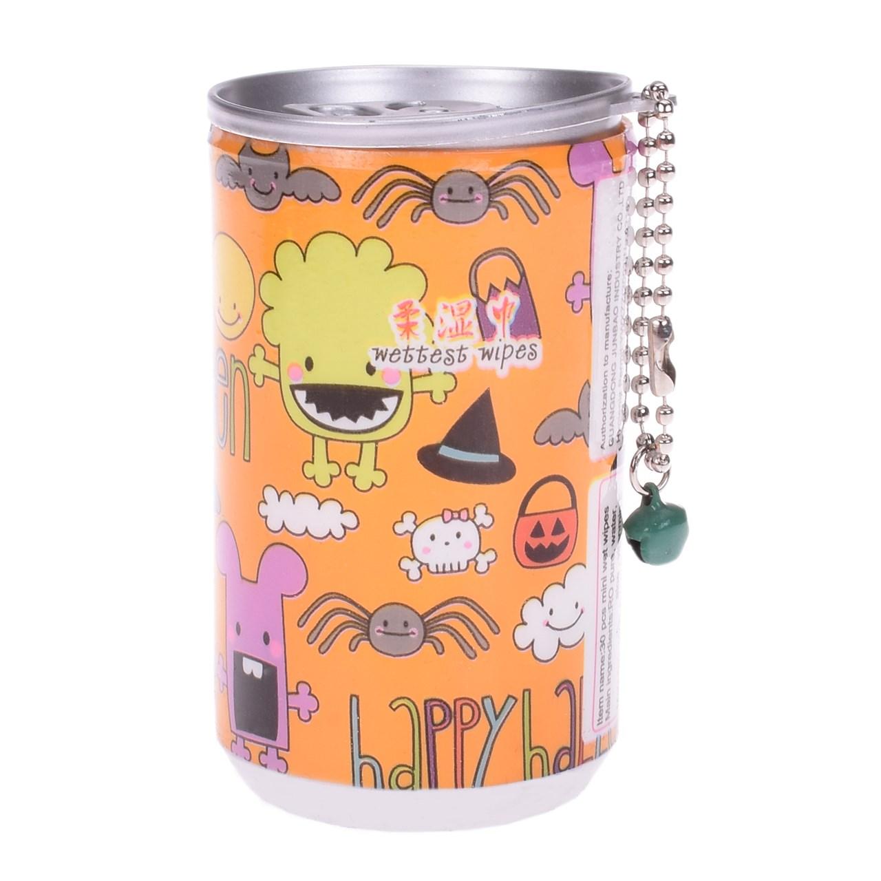 دستمال مرطوب ترانه مدل halloween 3 بسته 30 عددی