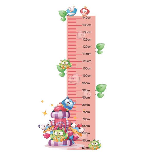 متر اندازه گیری کودک طرح جغدها کد 01