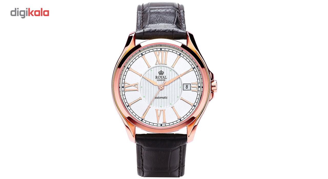 ساعت مچی عقربه ای مردانه رویال لندن مدل RL-41152-01
