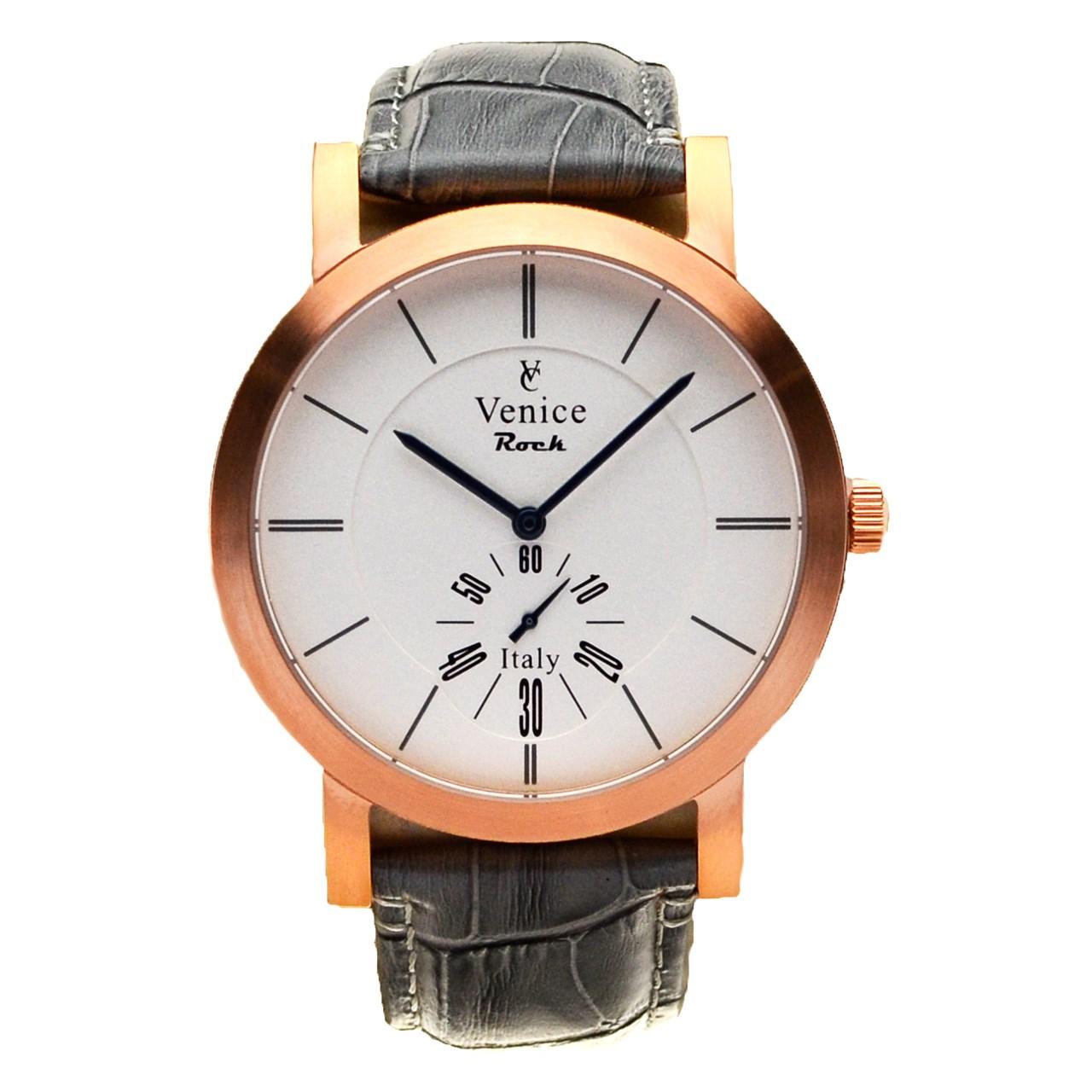 ساعت مچی عقربه ای مردانه ونیز مدل SC3007