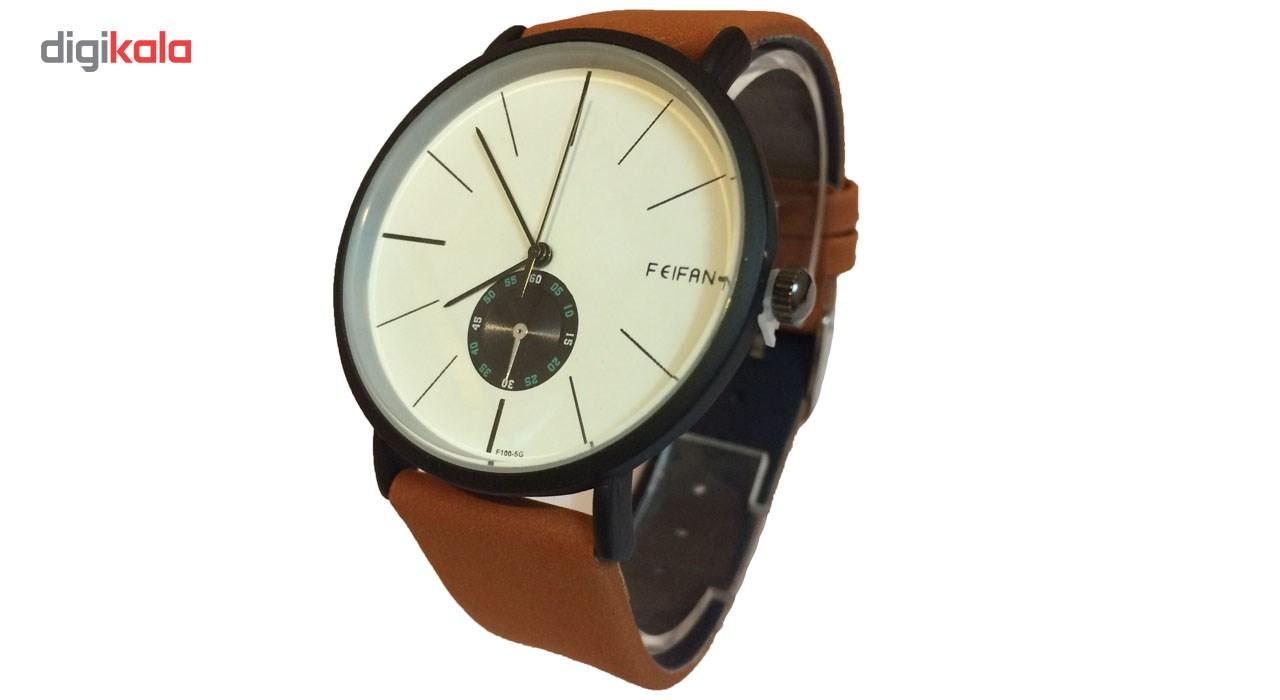 ساعت مچی عقربه ای فانتزی فیفان مدل No 62100G
