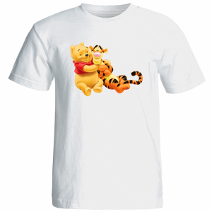 تی شرت زنانه آستین کوتاه نوین نقش طرح کد 9172