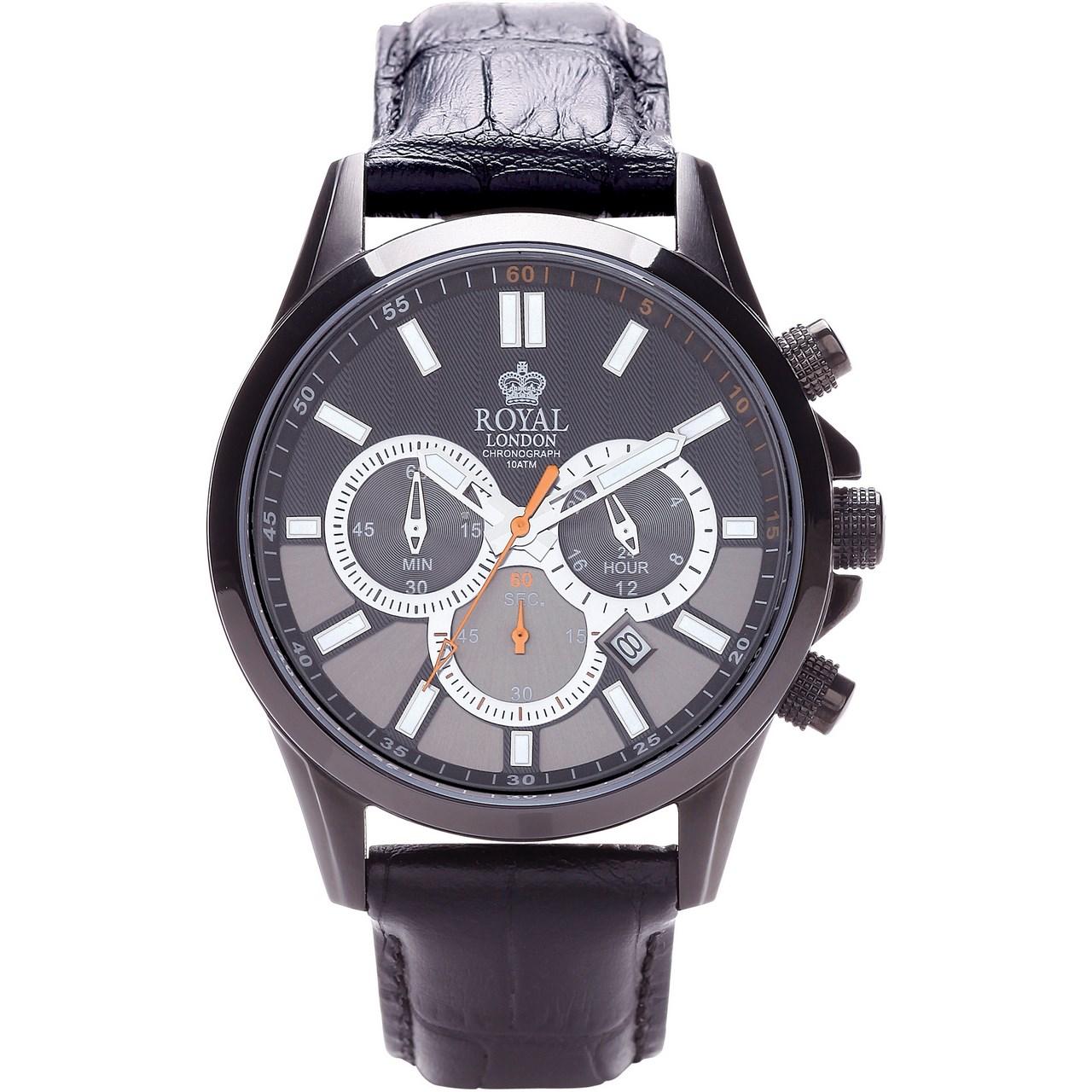 ساعت مچی عقربه ای مردانه رویال لندن مدل RL-41003-02