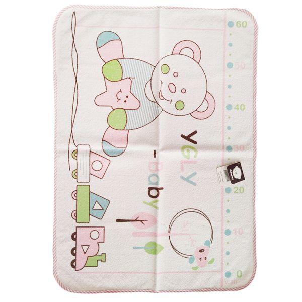 زیرانداز تعویض نوزاد طرح خرس مدل 002