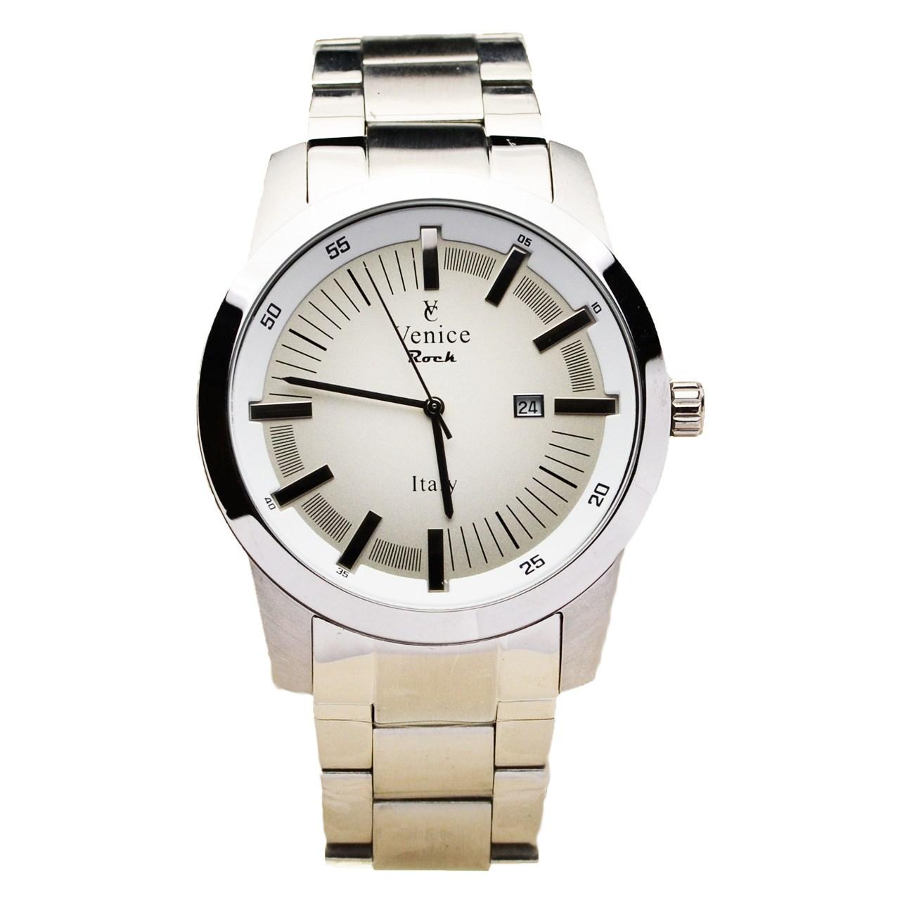 ساعت مچی عقربه ای مردانه ونیز مدل SV4008 29