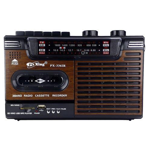 رادیو ضبط و اسپیکر  پوکسینگ مدل PX-3361R