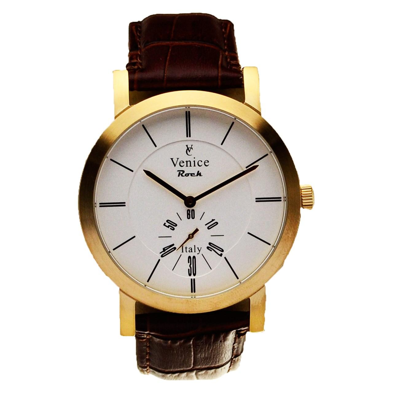 ساعت مچی عقربه ای مردانه ونیز مدل SC3007 33