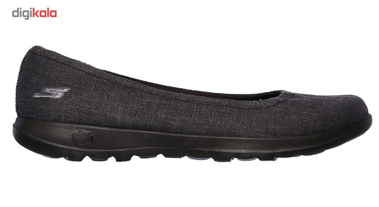 کفش راحتی زنانه اسکچرز مدل 15393BBK