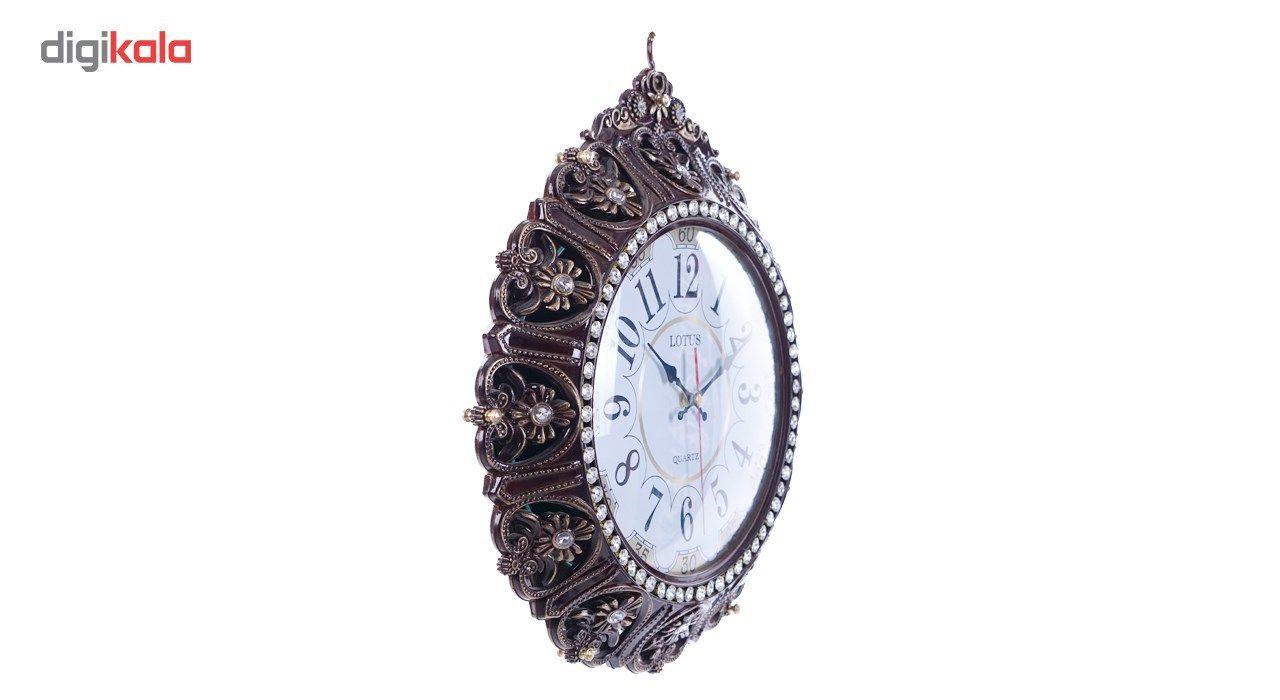 ساعت دیواری لوتوس مدل دو طرفه main 1 1