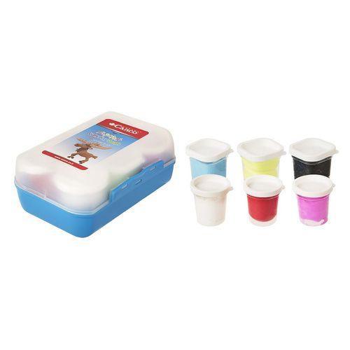 خمیر بازی  کنکو مدل ظرف غذا 6 رنگ
