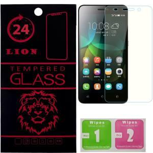 محافظ صفحه نمایش شیشه ای لاین مدل 2.5D مناسب برای گوشی هوآوی Honor 4C