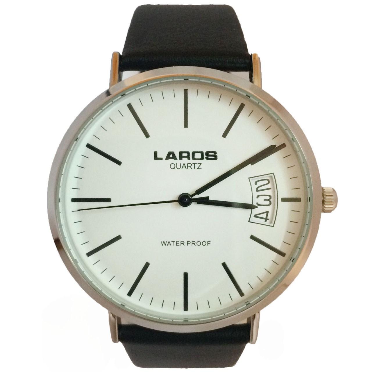 ساعت مچی عقربه ای لاروس مدل No 0917-80079-S-D