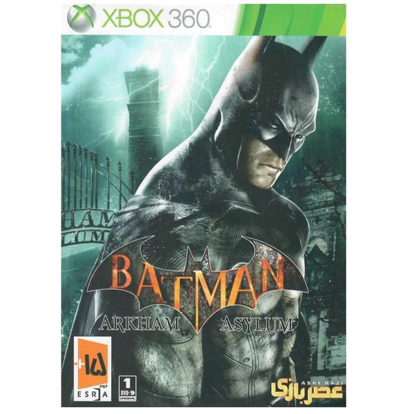 بازی Batman Arkham Asylum مخصوص ایکس باکس 360