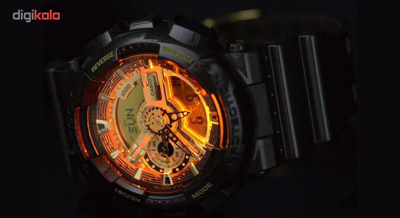 قیمت و خرید                      ساعت مچی عقربه ای مردانه کاسیو جی شاک GA-110BR-5ADR