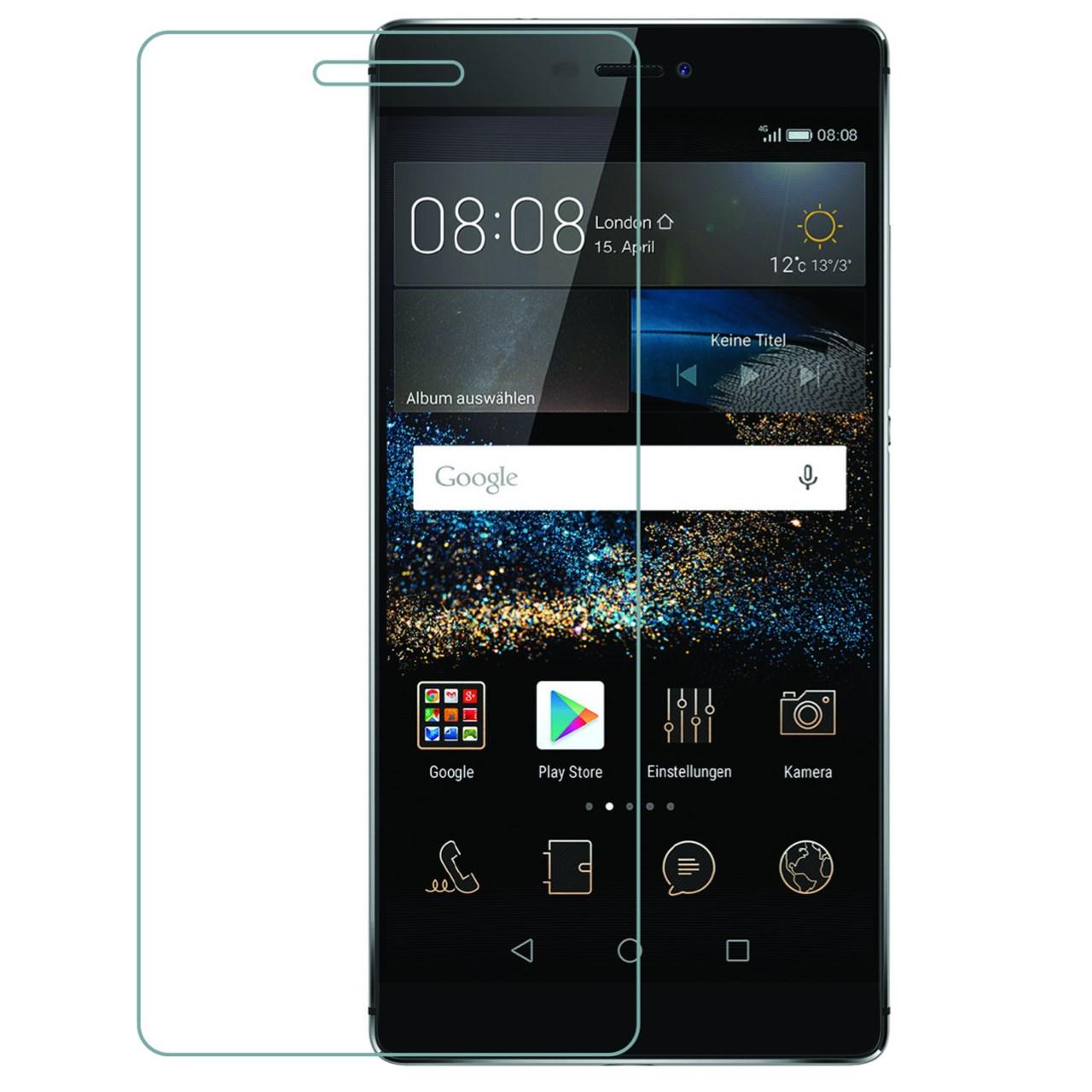 محافظ صفحه نمایش شیشه ای 9H  یونیفا مدل permium تمپرد مناسب برای Huawei P8