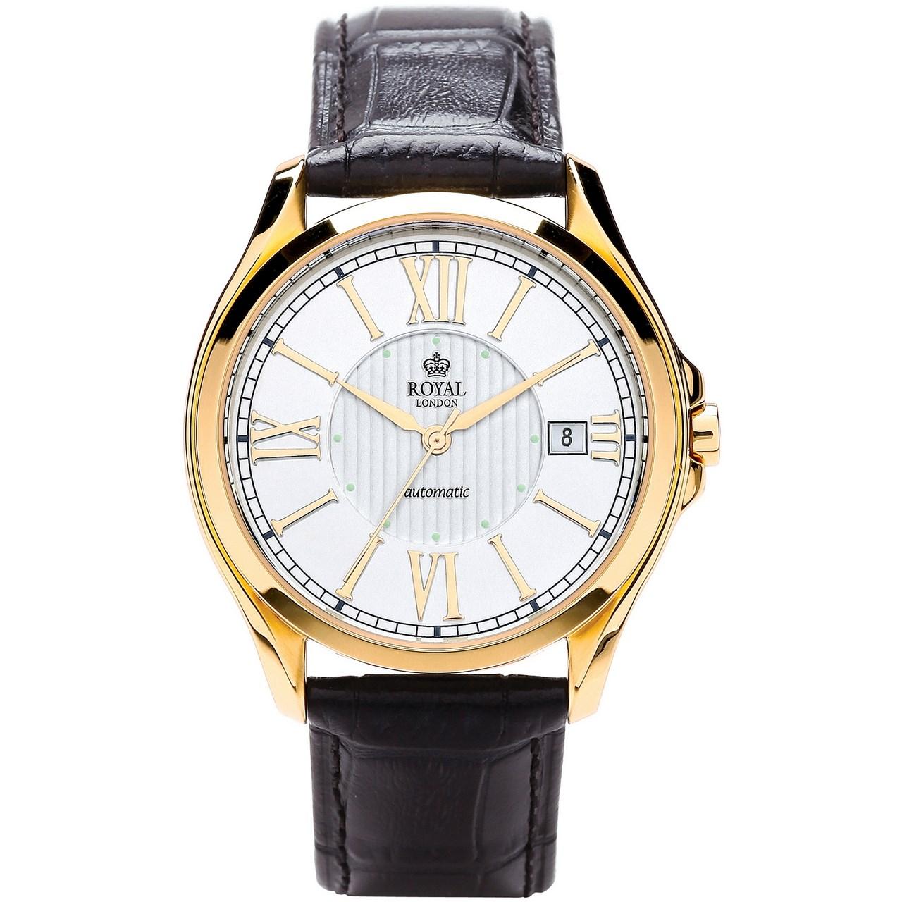 ساعت مچی عقربه ای مردانه رویال لندن مدل RL-41152-03
