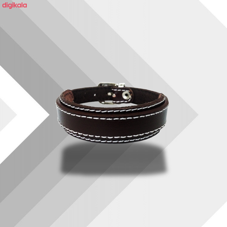 دستبند چرم وارک مدل رهام کد rb207 main 1 10