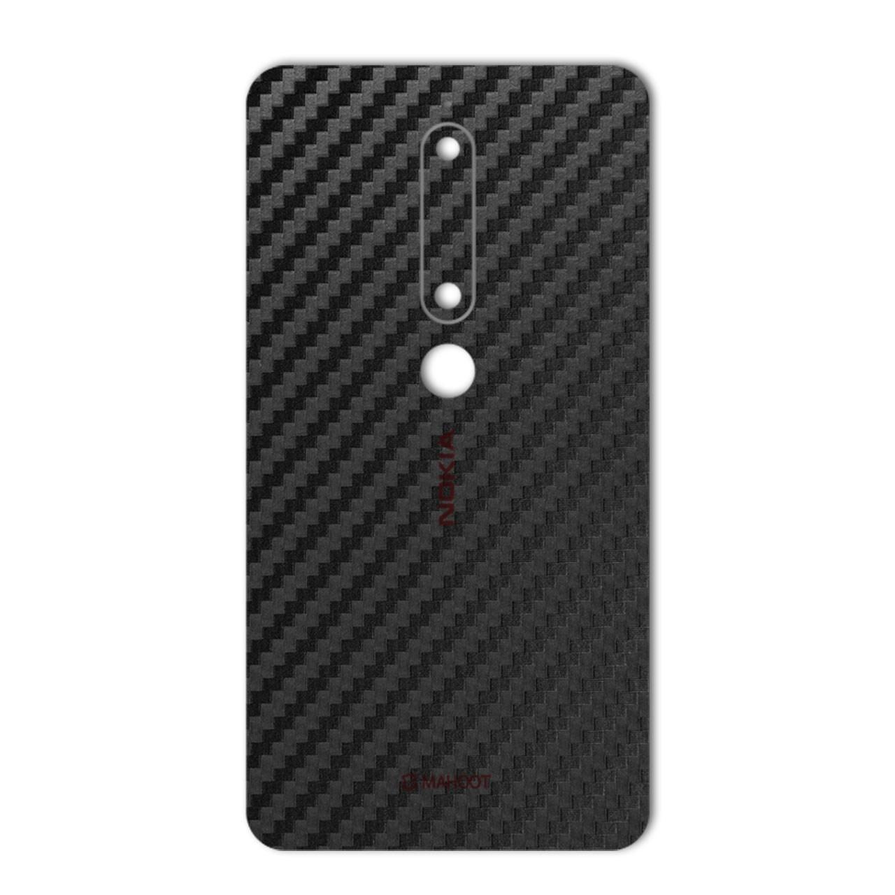 برچسب پوششی ماهوت مدل Carbon-fiber Texture مناسب برای گوشی Nokia 6.1