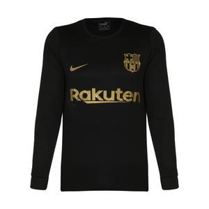 تی شرت ورزشی پسرانه طرح بارسلونا مدل 2021