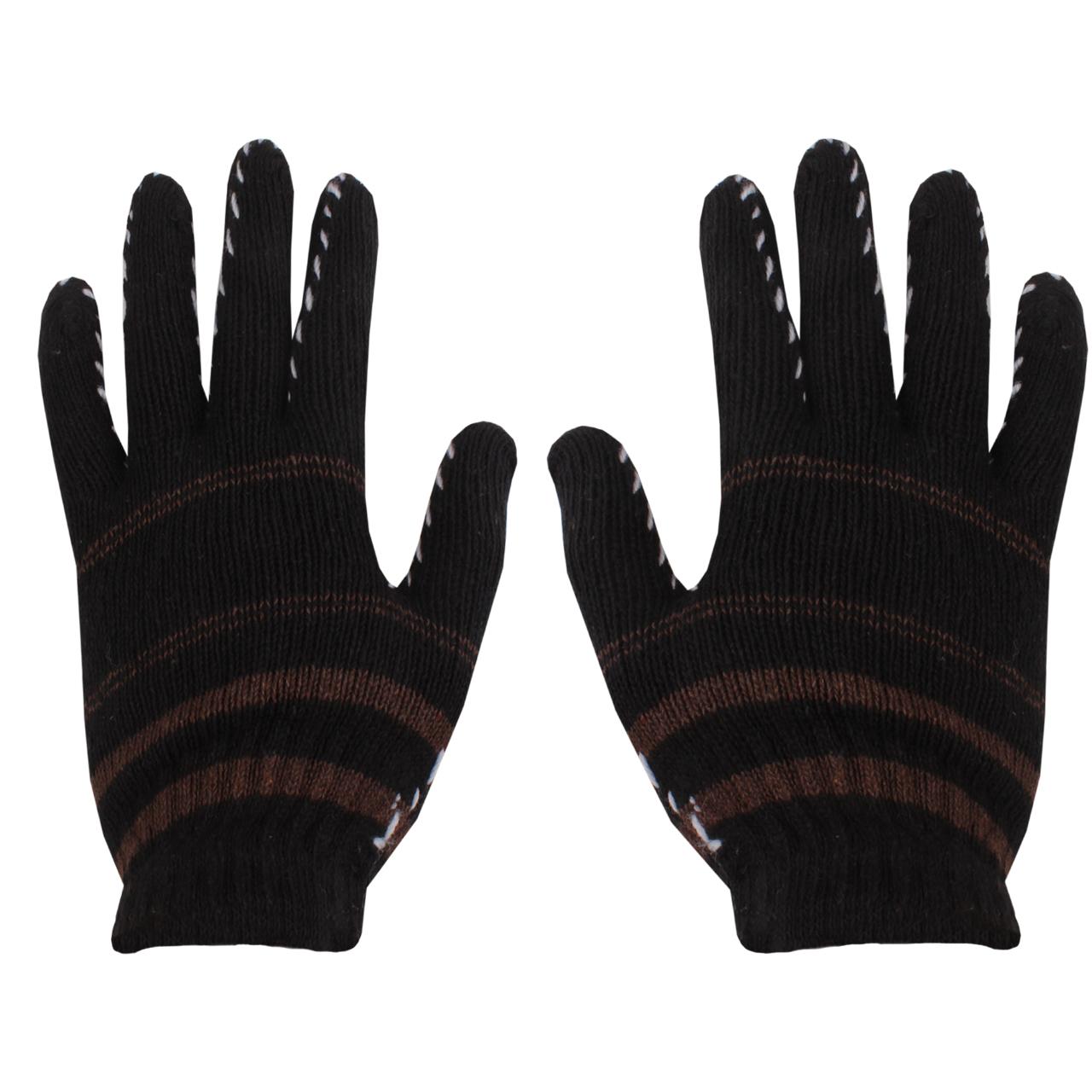 دستکش بافتنی مدل 02