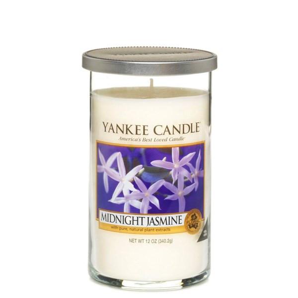 شمع متوسط ینکی کندل مدل گل یاس شب