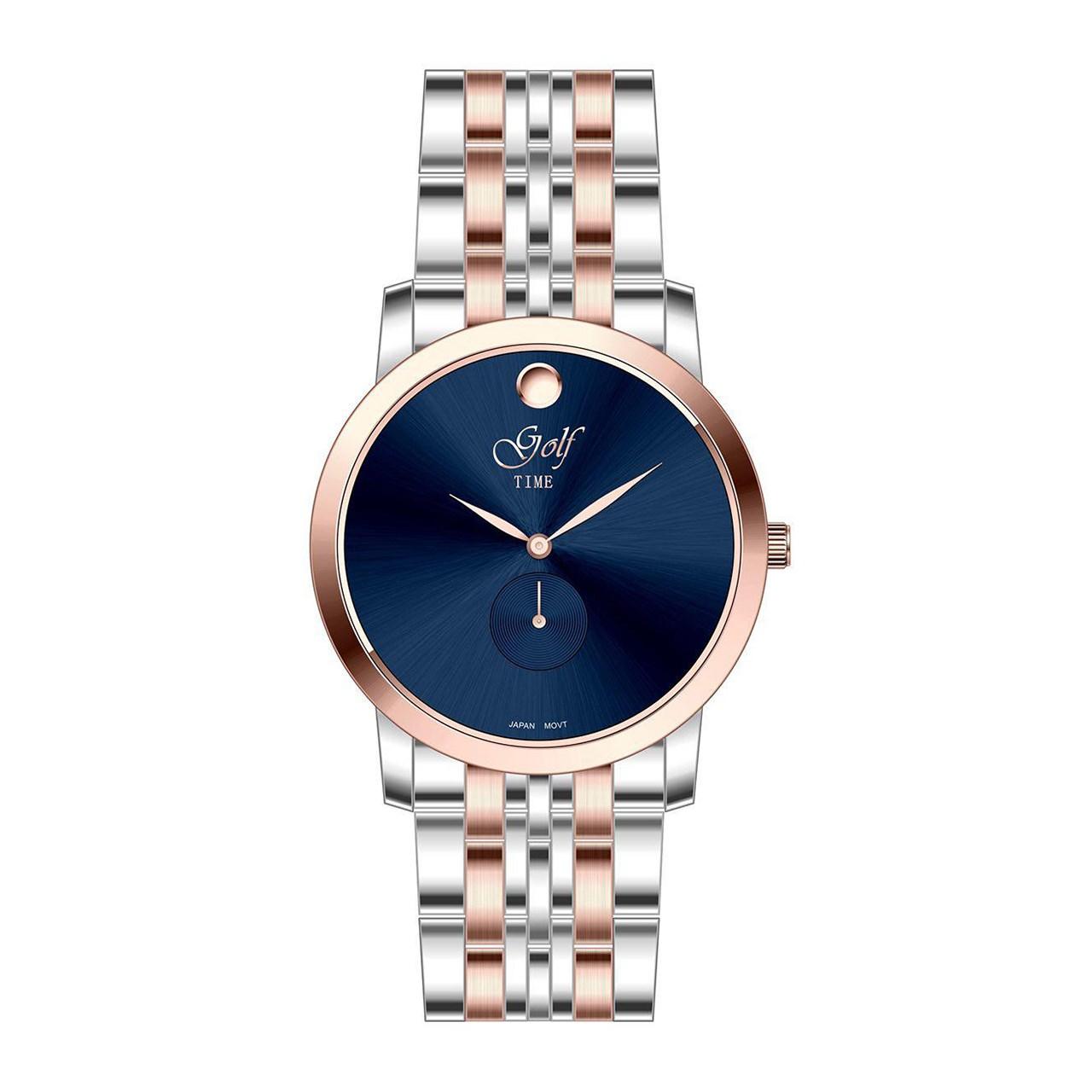 ساعت مچی عقربه ای  مردانه  گلف مدل 5-0225