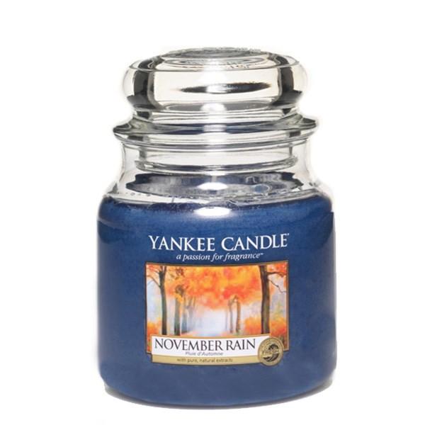 شمع کوچک ینکی کندل مدل باران نوامبر