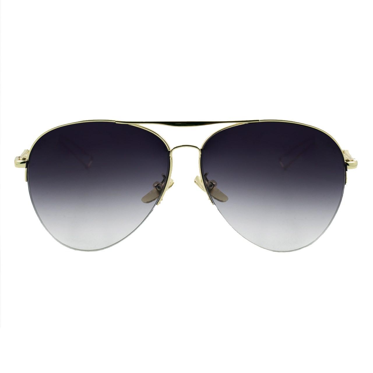 عینک آفتابی ویلی بولو مدل Aviators Deep Grey