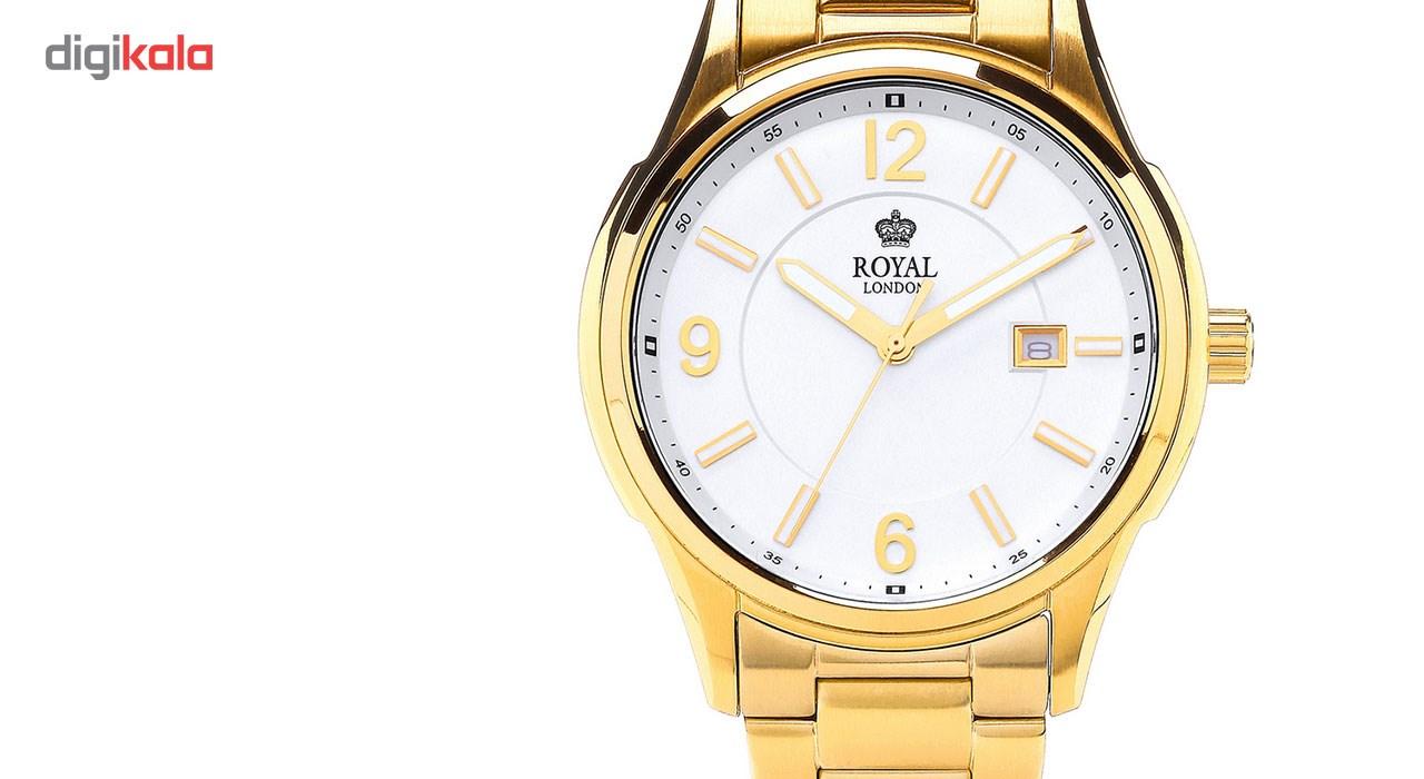 ساعت مچی عقربه ای مردانه رویال لندن مدل RL-41222-07