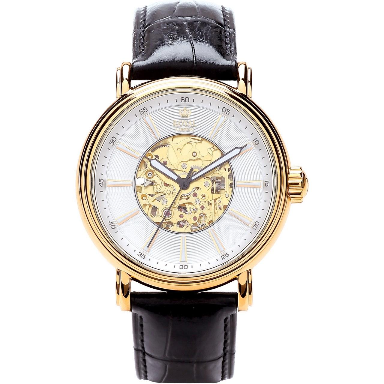 ساعت مچی عقربه ای مردانه رویال لندن مدل RL-41145-02 45