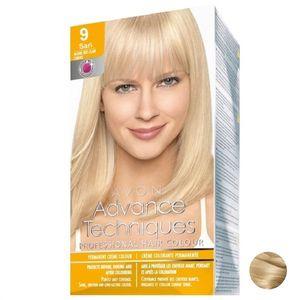 کیت رنگ مو آون مدل Advance Techniques Professional Hair Color کد 9.0 رنگ Light Blonde