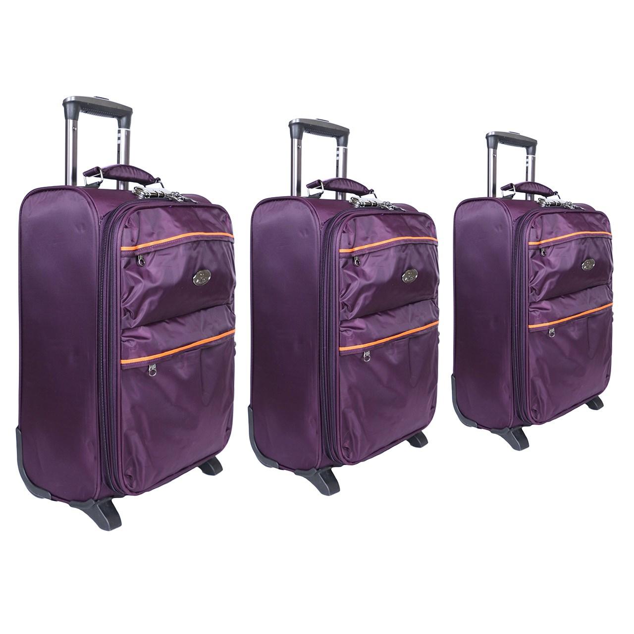 مجموعه سه عددی چمدان مدل مونسکا4