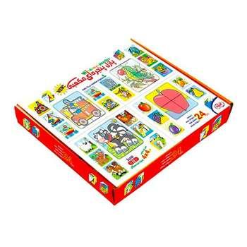 بازی آموزشی گلدونه مدل پازل مکعبی پنجره ای