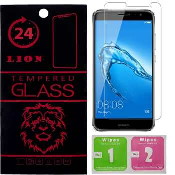 محافظ صفحه نمایش شیشه ای لاین مدل 2.5D مناسب برای گوشی هوآوی Nova Plus