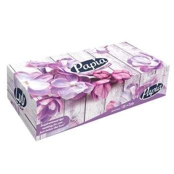 دستمال کاغذی 100 برگ پاپیا مدل Orchid
