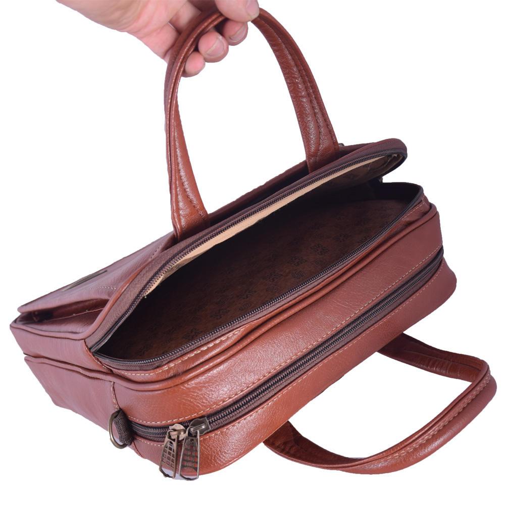 کیف دستی چرم ما مدل SM-12 -  - 22