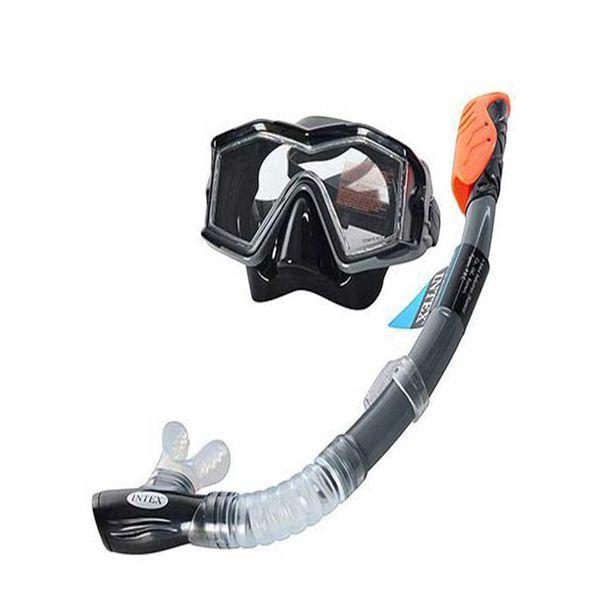 ماسک و اسنورکل شنا اینتکس مدل 55961