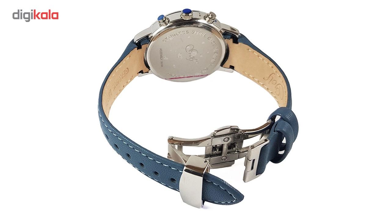 ساعت مچی عقربه ای   زنانه  گلف مدل 1-0218