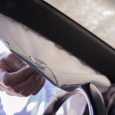آفتابگیر شیشه جلو خودرو بابل کد 1202