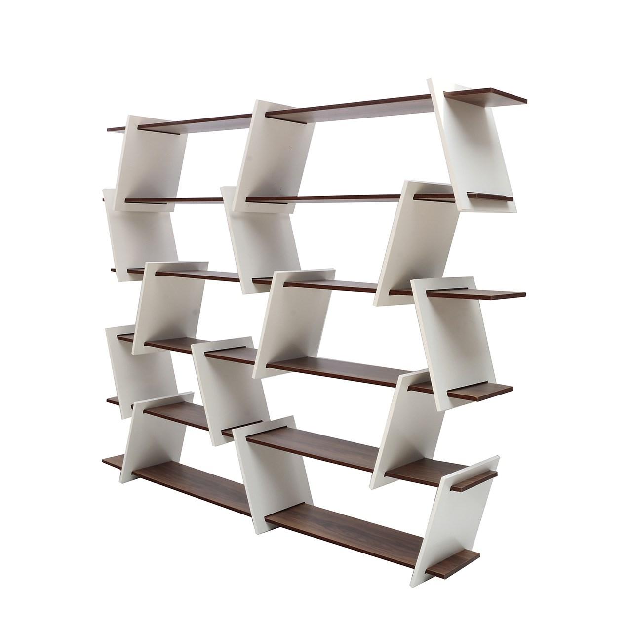 قفسه دکورآسان مدل بی نظم کد 102lv