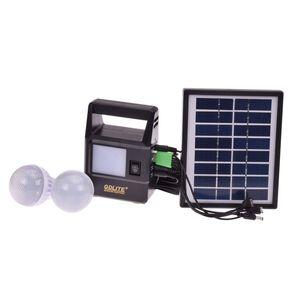 چراغ اضطراری و شارژر خورشیدی جی دی لایت مدل GD-8030