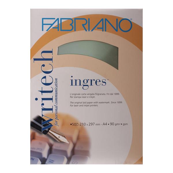 کاغذ فابریانو مدل Ingres Chiaro سایز A4 بسته 50 عددی
