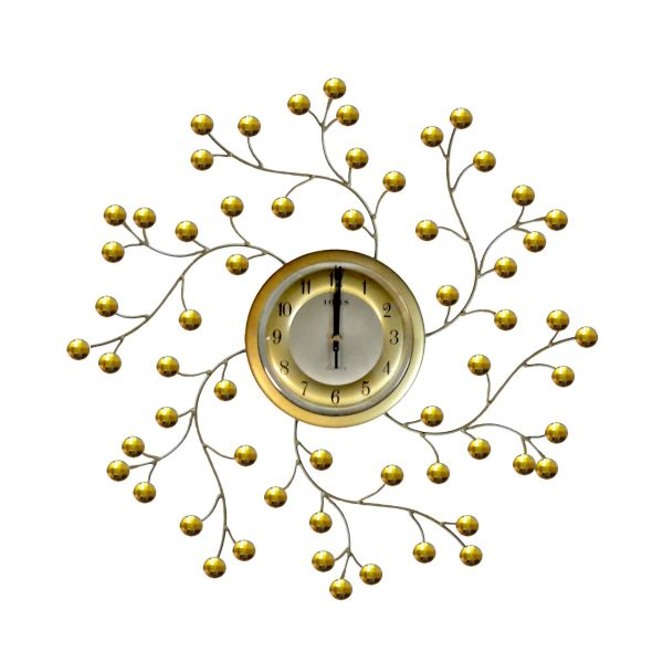 ساعت دیواری فرفوژه لوتوس مدل 1044